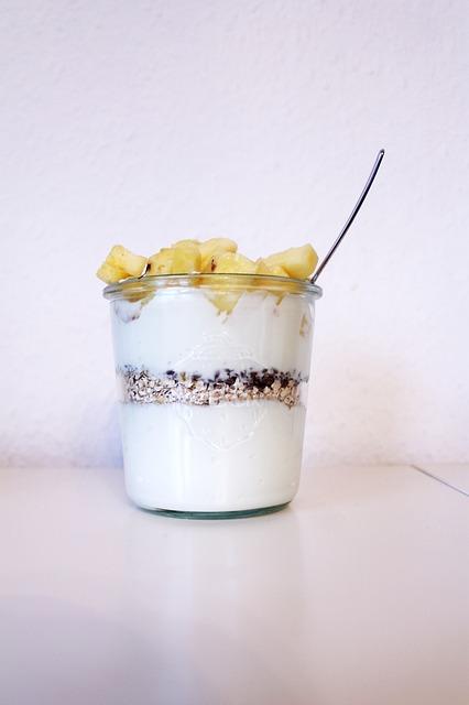 Mousse de yaourt au caviar de vanille