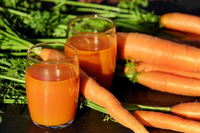 Velouté de carotte au cumin et au curcuma