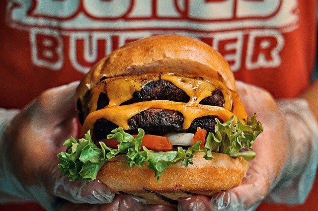Burgers au camembert et confiture de mandarine & rhum