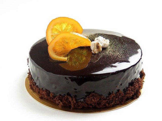 Moelleux au chocolat noir orange & cranberries