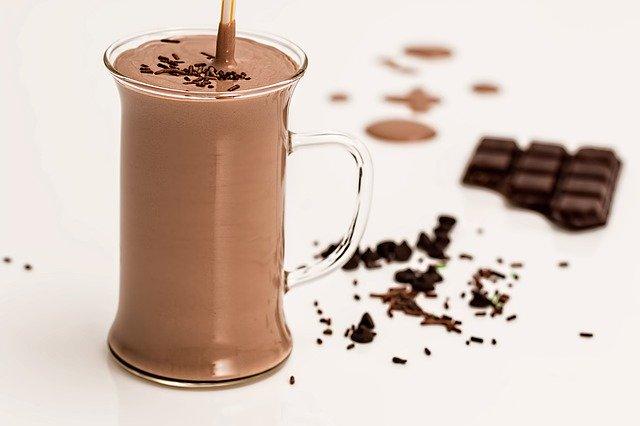 Smoothie au chocolat au lait arabica et fleur de sel marin