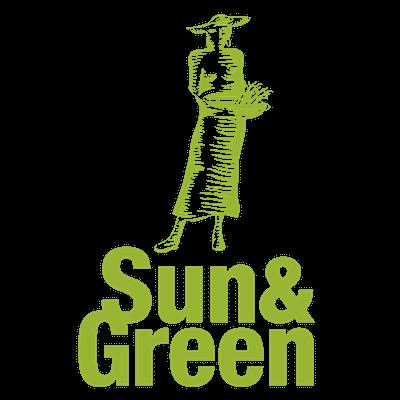 logo sun & green